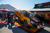 17-19 March 2017, Gainesville, Florida USA J.R. Todd, DHL, Camry, funny car, PitPass, signage, fans ©2017, Mark J. Rebilas