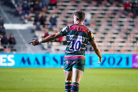 26th September 2020; Toulon, France; European Challenge Cup Rugby, semi-final; RC Toulon versus Leicester Tigers;  George Ford (Leicester)