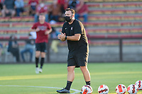 AND, A - SEPTEMBER 11: Associate Head Coach Oige Kennedy during a game between San Jose State and Stanford University at And on September 11, 2021 in And, A.