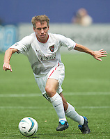 Richie Williams of the MetroStars. The Kansas City Wizards and the NY/NJ MetroStars played to a 0-0 tie on 8/13/03 at Giant's Stadium, NJ..