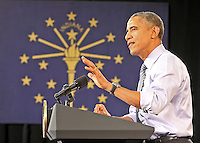President Obama's Visit to Ivy Tech - Indianapolis  2-6-15