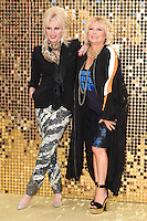"""Joanna Lumley and Jennifer Saunders<br /> arrives for the World Premiere of """"Absolutely Fabulous: The Movie"""" at the Odeon Leicester Square, London.<br /> <br /> <br /> ©Ash Knotek  D3137  29/06/2016"""