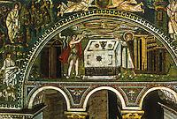 Ravenna: Temple of San Vitale--The sacrifices of Abel and Melchisedec.