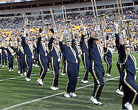 Pitt band. The Pitt Panthers defeated the Louisville Cardinals 20-3 at Heinz Field, Pittsburgh Pennsylvania on October 30, 2010.