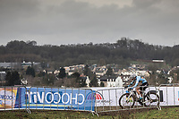 Sanne Cant (BEL/Iko-Beobank)  on her way to winning another rainbow jersey<br /> <br /> Women Elite Race<br /> UCI CX Worlds 2018<br /> Valkenburg - The Netherlands<br /> <br /> <br /> `