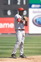 July 11, 2010: Spokane Indians shortstop Jurickson Profar (2) during a Northwest League game against the Everett AquaSox at Everett Memorial Stadium in Everett, Washington.