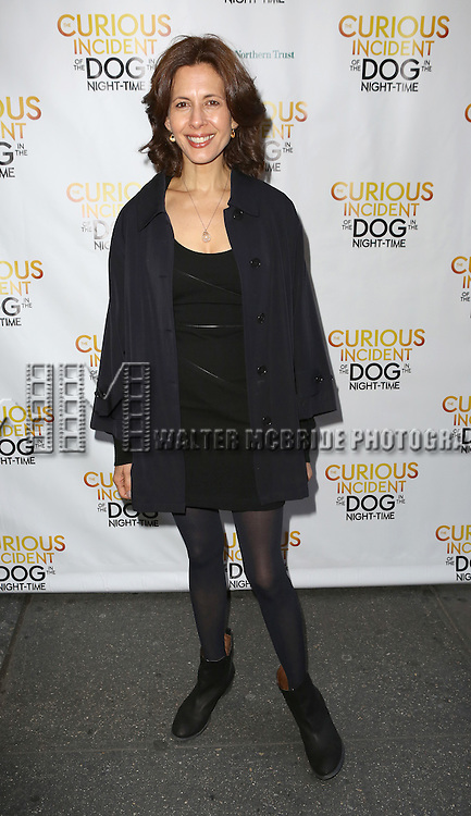 Jessica Hecht attends the Broadway Opening Night Performance of 'The Curious Incident of the Dog in the Night-Time'  at the Barrymore Theatre on October 5, 2014 in New York City.