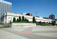 Cleveland: Cleveland Convention Center, 1922-27; 1988. East 6th, Lakeside and St. Clair. Photo '01.