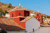 Dome of a Greek Orthodox Chapel, Hydra, Greek Saronic Islands