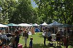 Barnes southwest London Uk. Annual summer July fair.