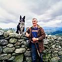 Farmer Caerwyn Roberts Snowdonia Hill Farm Wales  CREDIT Geraint Lewis