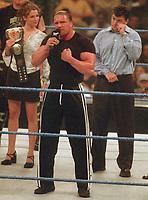 Stephanie McMahon Triple H Shane McMahon 2000                                                                Photo by  John Barrett/PHOTOlink