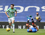 02.05.2121 Rangers v Celtic: Greg Taylor and Alfredo Morelos