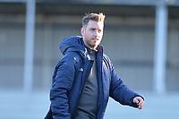 Walthamstow manager Max Mitchellduring Walthamstow vs Sawbridgeworth Town, Essex Senior League Football at Wadham Lodge Sports Ground on 8th February 2020