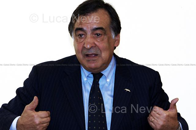Leoluca Orlando, Italian politician - London 2010