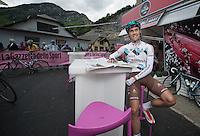 2013 Giro d'Italia.stage 11.Tarvisio - Vajont: 182km..Guillaume BONNAFOND (FRA).