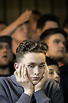 © Joel Goodman - 07973 332324 . 18/05/2016 . Accrington , UK . Accrington Stanley fans during extra time . Accrington Stanley take on AFC Wimbledon at the Wham Stadium , in the 2nd leg of their League Two tie , the result from which will decide which team goes on to the final at Wembley . Photo credit : Joel Goodman