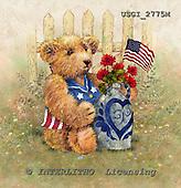 GIORDANO, CUTE ANIMALS, LUSTIGE TIERE, ANIMALITOS DIVERTIDOS, Teddies, paintings+++++,USGI2775M,#AC# teddy bears