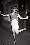 Teri Garr on the set filming TOOTSIE on June 9, 1982 in New York City.