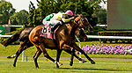 ELMONT, NY - JUNE 08: Fourstar Crook, #8, ridden by Irad Ortiz Jr., wins the New York Stakes during Friday racing action of the Belmont Stakes Festival at Belmont Park on June 8, 2018 in Elmont, New York. (Photo by Sue Kawczynski/Eclipse Sportswire/Getty Images)
