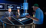 "Dan Harrington talks to Mike Sexton & Vince Van Patten before ""heads up"" play."