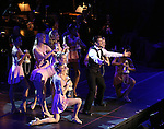 """Tony Yazbeck and cast during the Manhattan Concert Productions 25th Anniversary concert performance of """"Crazy for You"""" at David Geffen Hall, Lincoln Center on February 19, 2017 in New York City."""