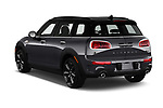 Car pictures of rear three quarter view of 2017 MINI Cooper Clubman-S-ALL4 5 Door Wagon Angular Rear