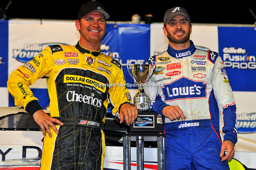 Jun 9, 2010; 11:10:28 PM; Rossburg, OH., USA; The sixth running of the Gillette Fusion ProGlide Prelude to the Dream XVI  Dirt Late Models at the Eldora Speedway.  Mandatory Credit: (thesportswire.net)