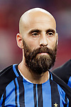 FC Internazionale Midfielder Borja Valero getting into the field during the International Champions Cup match between FC Bayern and FC Internazionale at National Stadium on July 27, 2017 in Singapore. Photo by Marcio Rodrigo Machado / Power Sport Images
