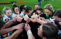 The Cyclones celebrate winning the Farah Palmer Cup women's rugby match between Wellington Pride and Manawatu Cyclones at Sky Stadium in Wellington, New Zealand on Friday, 25 September 2020. Photo: Dave Lintott / lintottphoto.co.nz