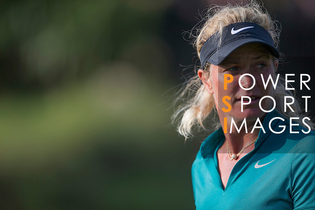 Suzann Pettersen during the World Celebrity Pro-Am 2016 Mission Hills China Golf Tournament on 23 October 2016, in Haikou, Hainan province, China. Photo by Victor Fraile / Power Sport Images