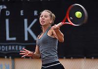 07-08-13, Netherlands, Rotterdam,  TV Victoria, Tennis, NJK 2013, National Junior Tennis Championships 2013, Donnaroza Gouvernante<br /> <br /> <br /> Photo: Henk Koster