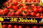 Storefront Tomatoe's.Genoa, Italy