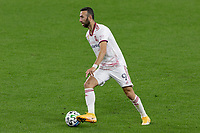 ST PAUL, MN - SEPTEMBER 27: Justin Meram #9 of Real Salt Lake controls the ball during a game between Real Salt Lake and Minnesota United FC at Allianz Field on September 27, 2020 in St Paul, Minnesota.