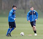 Calum Gallagher and Fraser Aird