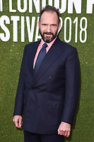 """Ralph Fiennes<br /> London Film Festival screening of """"The White Crow"""" at the Embankment Gardens, London<br /> <br /> ©Ash Knotek  D3447  18/10/2018"""