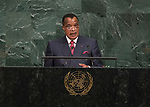 72 General Debate – 20 September <br /> <br /> His Excellency Denis Sassou Nguesso, President of the Republic of the Congo