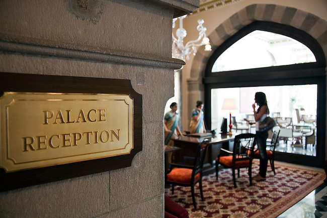 MUMBAI, INDIA - SEPTEMBER 27, 2010: The Taj Mahal Palace and Tower Hotel in Mumbai has re-opened after the terror attacks of 2008 destroyed much of the heritage wing. The wing has been renovated and the hotel is once again the shining jewel of Mumbai. pic Graham Crouch