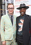 Adam Smith and Billy Poter attend the Broadway Opening Night performance of 'The Prince of Broadway' at the Samuel J. Friedman Theatre on August 24, 2017 in New York City.