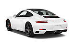 Car pictures of rear three quarter view of 2017 Porsche 911 Carrera S 2 Door Coupe Angular Rear