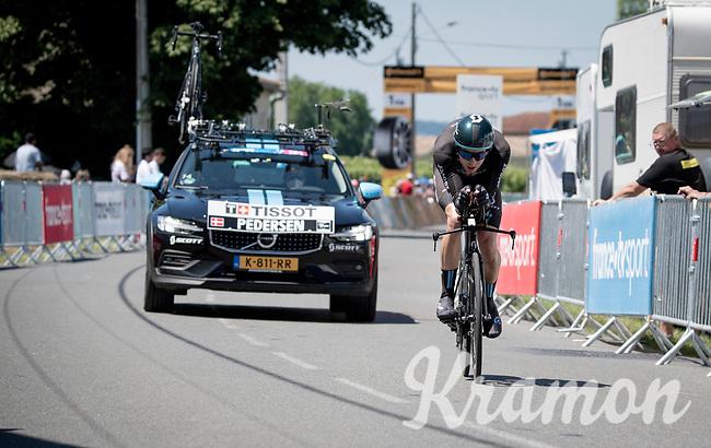 Casper Pedersen (DEN/DSM)<br /> <br /> Stage 20 (ITT) from Libourne to Saint-Émilion (30.8km)<br /> 108th Tour de France 2021 (2.UWT)<br /> <br /> ©kramon