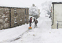 04/03/2016<br /><br />As Storm Jake passes through the UK, much of the north of England experienced heavy snowfall the night before. In Sparrowpit, in the High Peak, Derbyshire, fields and roads were impassable.<br /><br />All Rights Reserved: F Stop Press Ltd. +44(0)1335 418365   +44 (0)7765 242650 www.fstoppress.com