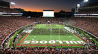 ATHENS, GA - SEPTEMBER 21: Dooley Field, Sanford Stadium prior to the game during a game between Notre Dame Fighting Irish and University of Georgia Bulldogs at Sanford Stadium on September 21, 2019 in Athens, Georgia.
