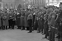 Nazis gathering, APRIL 20,1938<br /> <br /> photographed by Wilhem Walther