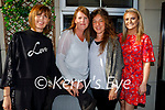 Enjoying the evening in the Ashe Hotel on Friday evening, l to r: Deirdre Mahoney, Sinead Sheehy, Krista Marczuk and Iseult Ní Bhuachalla.