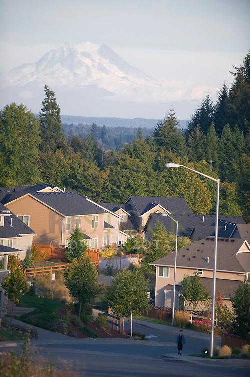 Neighborhood with Mountain View