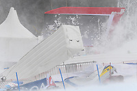 28th December 2020; Semmering, Austria; FIS Womens Giant Slalom World Cu Skiing; A storm rises during for women Giant Slalom of FIS ski alpine world cup and prevented the second run of for womens giant slalom on Semmering