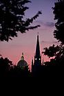Dome and Basilica..Photo by Matt Cashore/University of Notre Dame