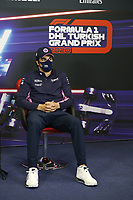12th November 2020; Istanbul Park, Istanbul, Turkey;   FIA Formula One World Championship 2020, Grand Prix of Turkey, 18 Lance Stroll CAN, BWT Racing Point F1 Team pre race press conference