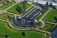 Vista aérea do Jardim da Independencia. São Paulo. 2008. Foto de Juca Martins.